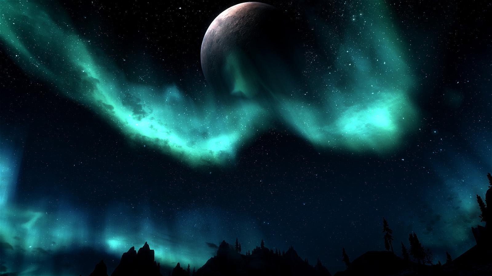 небо скайрима картинки именно