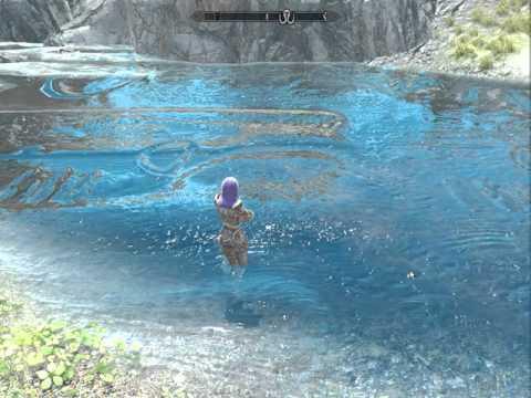 скачать мод на воду