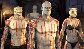 Hircine's Hunt Body Markings | Нательная раскраска «Охота Хирсина»