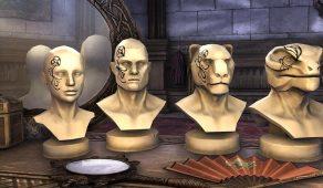 Bards College Skald Face Marks | Лицевая раскраска скальда Коллегии бардов