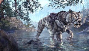 Karthstalker Sabre Cat | Саблезуб-охотник из Карта