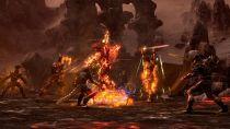 Битва с огненным атронахом