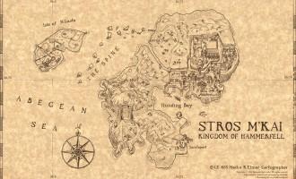 Остров Строс М'Кай (TES Adventures: Redguard)