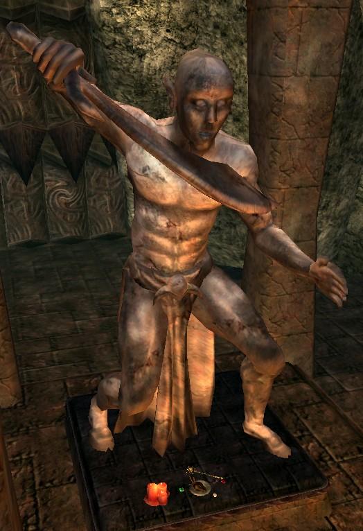 Статуя Малаката