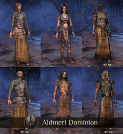 Aldmeri Dominion Races