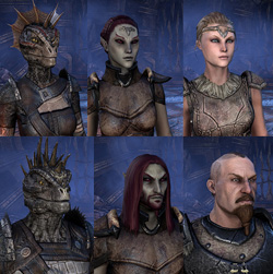 Ebonheart Pact Races