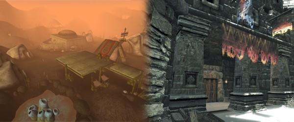 Солидный город и его скромная виндхельмская тень (Morrowind, Skyrim)