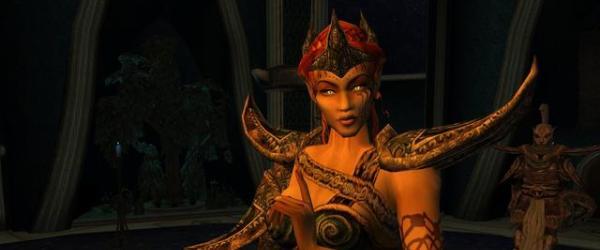 Знойная и своенравная красотка (Morrowind + replacer)