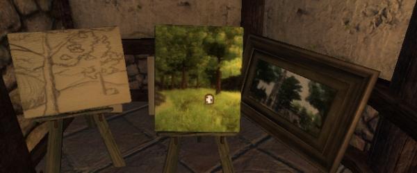 Нарисованный лес (Oblivion)