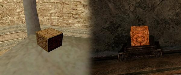 Злосчастный кубик (Morrowind, Skyrim)