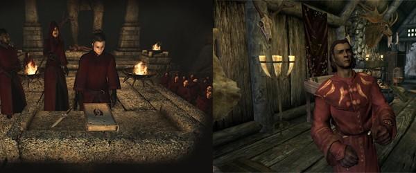 Мифический рассвет и хранитель музея (Oblivion, Skyrim)