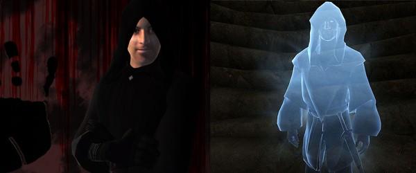 Люсьен Лашанс и его призрачная тень (Oblivion, Skyrim)