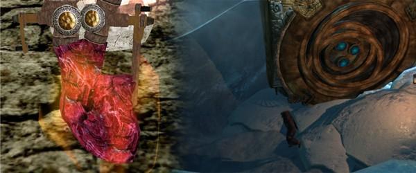 По мнению Септимия Сегония, именно вот это сердце находится в той огромной двемерской коробке (Morrowind, Skyrim)