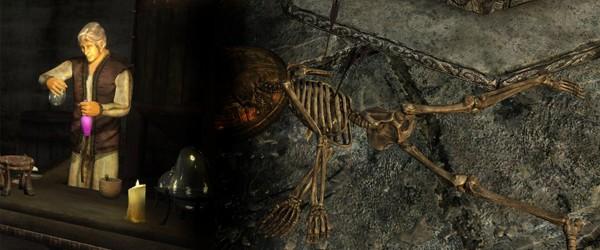 Синдерион и то, что от него осталось (Oblivion, Skyrim)