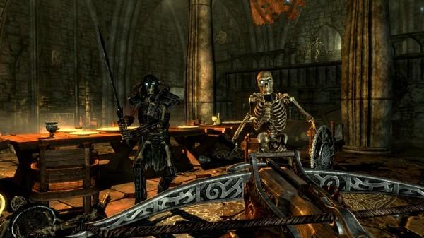 Последний раз арбалеты были в TES III: Morrowind
