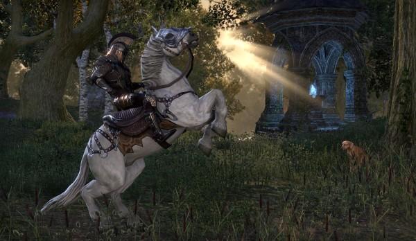 Имперец верхом на имперской лошади