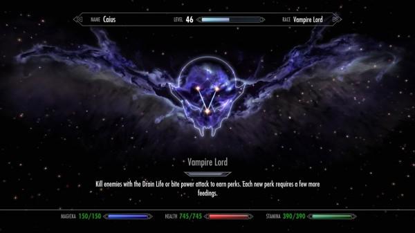 Древо способностей вампира-лорда
