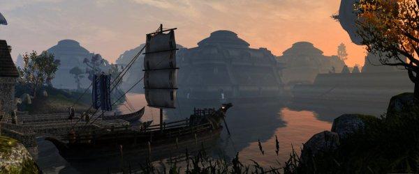 Вид на Вивек; автор скриншота: Higurro (Morrowind)