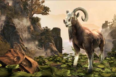 Бурый козел