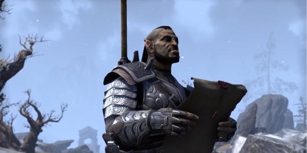 Скриншот из дополнения Orsinium для The Elder Scrolls Online