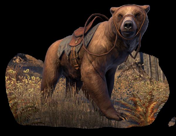 Ездовое животное пещерный медведь1800