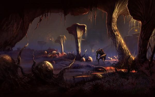 Пещеры Глубокая тень