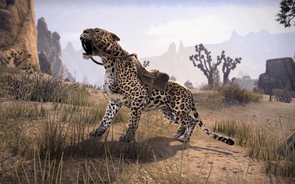 Ездовой сенч-леопард