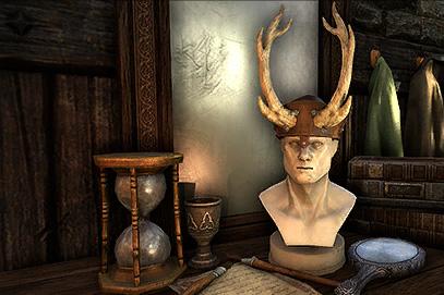 Upright Antler Skullcap