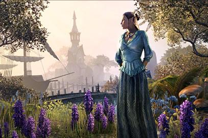 'Ever Auridon' Sateen Gown
