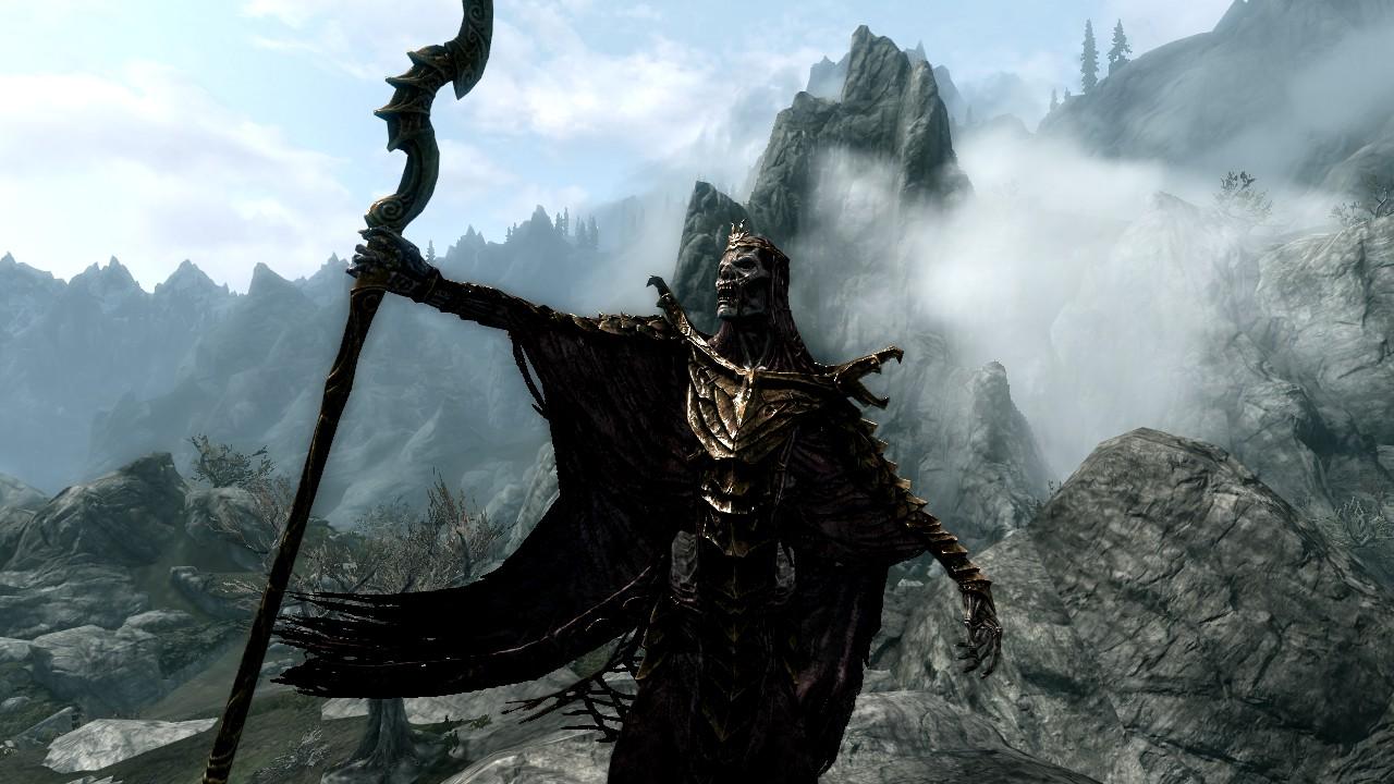 TES 5 Skyrim (маски драконьих жрецов) - YouTube